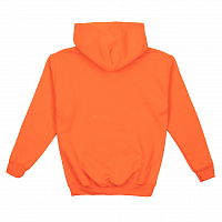 Grizzly OG BEAR YOUTH PULLOVER HOODIE Safety Orange / White