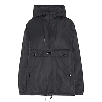 OBEY RIPPLE ANORAK BLACK