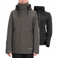 686 WMS SMARTY SPELLBOUND JACKET CHARCOAL HEATHER
