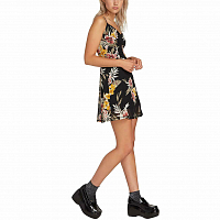 Volcom SLUSHY HOUR DRESS BLACK COMBO