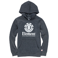 Element VERTICAL HOOD BOY CHARCOAL HEATHE