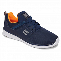 DC HEATHROW M SHOE DCNAVY/ORANGE