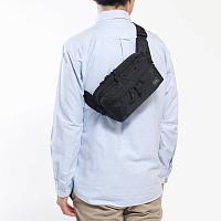 Porter-Yoshida & Co Force 2way Waist BAG BLACK