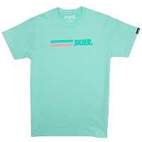 Planks SKIER T-SHIRT COOL TEAL