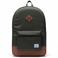 Herschel Heritage DARK OLIVE/SADDLE BROWN