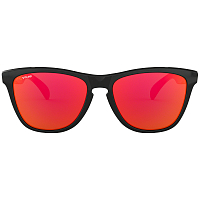 Oakley Frogskins POLISHED BLACK/PRIZM RUBY