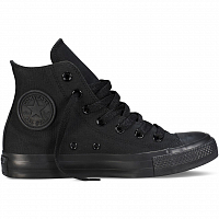 Converse CHUCK TAYLOR ALL STAR CORE HI BLACK MONOCHROME