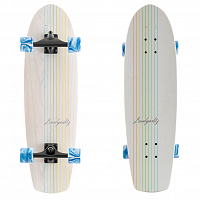 Landyachtz BUTTER WHITE OAK LINES one size