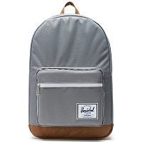Herschel Pop Quiz GREY/TAN SYNTHETIC LEATHER