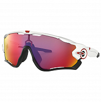 Oakley JAWBREAKER POLISHED WHITE/PRIZM ROAD