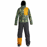 Airblaster W'S STRETCH FREEDOM SUIT OG DINO GOLD