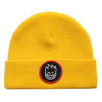 Spitfire BEANIE BH CIRCLE PATCH YLLW