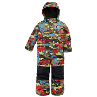 Burton TD ONE Piece BRIGHT BIRCH CAMO