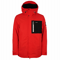 Planks Feel Good Insulated Jacket HOT RED