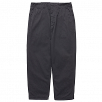 NANAMICA Wide Chino Pants BLACK
