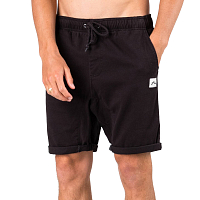 Rusty HOOKED ON ELASTIC SHORT BLACK