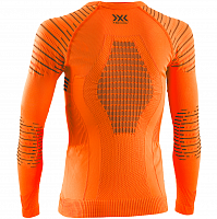 X-Bionic INVENT 4.0 SHIRT ROUND NECK LG SL JR SUNSET ORANGE/ANTHRACITE