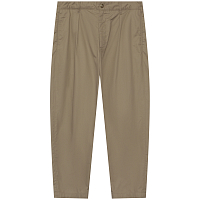 ENGINEERED GARMENTS CARLYLE PANT KHAKI HIGH COUNT TWILL