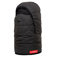 Airhole AIRHOOD INSULATED INSULATED IRIDESCENT IRIDESCENT BLACK