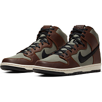 Nike SB DUNK HIGH PRO BAROQUE BROWN/BLACK-JADE HORIZON