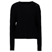 RVCA DROP OUT SWEATER BLACK