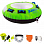 Jobe RUMBLE TOWABLE PACKAGE 1P WITH FOOTPUMP GREEN