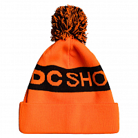 DC CHESTER BEANIE  HDWR SHOCKINGORANGE