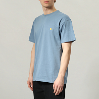 Carhartt WIP S/S CHASE T-SHIRT MOSSA / GOLD