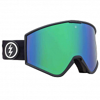 Electric KLEVELAND MATTE BLACK/BROSE/GREEN CHROME