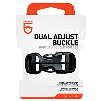 GEAR AID DUAL ADJUST BUCKLE KIT BLACK