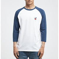 Billabong BENGAL LS TEE DARK BLUE