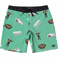 RVCA HOT FUDGE TRUNK GREEN